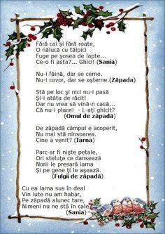 Anul Nou, Montessori, Education, Winter, Floral, Kids, Dark Around Eyes, Winter Time, Young Children