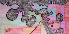Zentangle - Dubujo - estilografos, microfibras