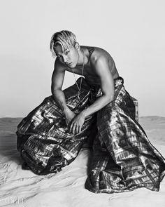 Tae Yang - Vogue Magazine July Issue '14