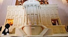 White House Gingerbread | (2010) 400-Pound GingerbreadHouse
