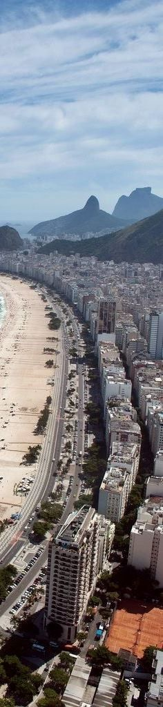 Copacabana Beach, Rio de Janeiro,Brazil is at the top of many travel bucket lists these days, due to the country's role as host to the recent soccer World Cup and the upcoming 2016 Olympic Games.