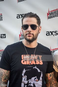M. Shadows of the band Avenged Sevenfold attends the Loudwire Music Awards at The Novo by Microsoft on October 24, 2017 in Los Angeles, California.