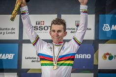 Michal Kwiatkowski became the first Polish rider ever to pull on the rainbow jersey when he powered to an impressive victory at the Elite Men's Road Race World Championship in Ponferrada, Spain.