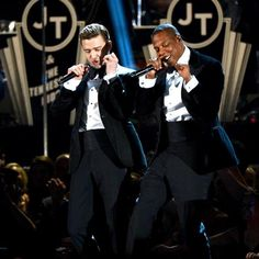 collabo in tuxes. #LegendsStadiumTour