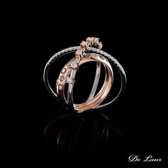 Beautiful gift for any woman or girl.  #DeLaur #Ring #Planets #Galaxy #Gift #Valentine