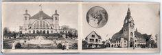 Leipzig um 1910. Tiefdruck. Palmengarten und Zoologischer Garten