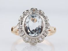 Right Hand Ring Vintage Mid-Century 2.51ct by FiligreeJewelers