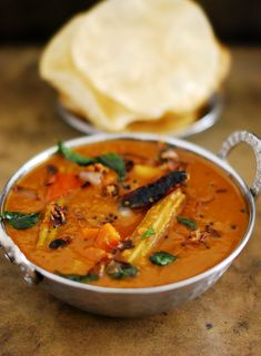 Varutharacha Sambar Recipe (Sambar Made With Roasted CoconutAnd Spices) @mariasmenu #mariasmenu