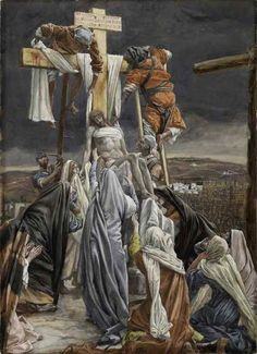 JESUS LIFTED DOWN FROM THE CROSS: famous paintings