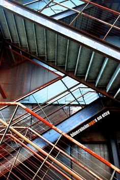Industrial Decor, Industrial Art, Urban Decor, Street Photography, Rust by bluerainimages on Etsy