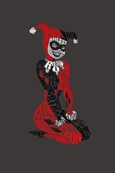 Harley Quinn • By ernestine