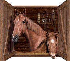 Horse Wall Murals horse & stable wall mural | western - for the home | pinterest