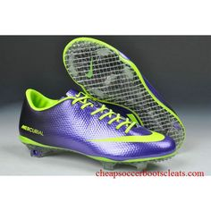 60086d8249 Cheap Nike Mercurial Vapor IX FG Cleats - Deep Purple Fluorescent Green New  Soccer Shoes 2013 Sale Online