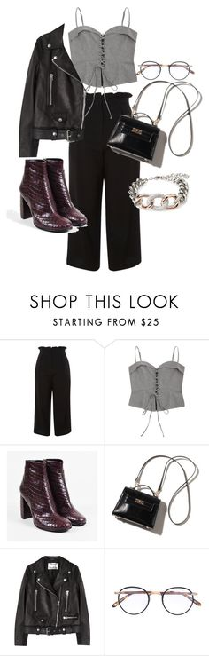 """""""Untitled #22515"""" by florencia95 ❤ liked on Polyvore featuring Topshop, STELLA McCARTNEY, Acne Studios, Garrett Leight and Swarovski"""
