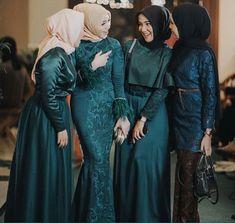 Photo by - - Kebaya Hijab, Kebaya Dress, Dress Pesta, Kebaya Muslim, Dress Brukat, Kebaya Brokat, Hijab Dress Party, Hijab Style Dress, Hijab Evening Dress