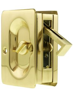Premium Quality Mid Century Pocket Door Privacy Lock Set | House Of Antique  Hardware