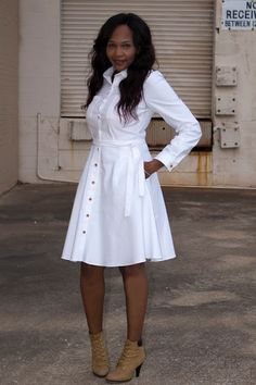White Denim Classic ! - Simplicity 8014 | Mrs. Crafty Chick