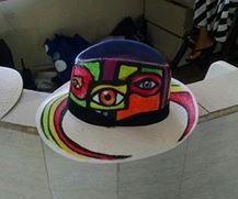 sombrero abstracto carnaval