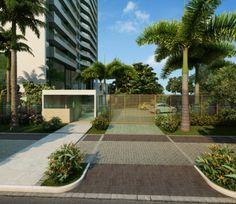 O Ed. Maria Olívia tem quatro quartos, sendo duas suítes, com área de 125 m² ou 132m².