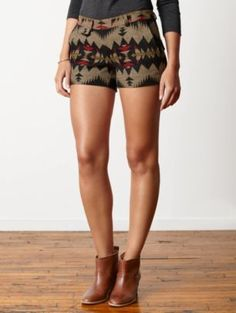 Pendleton Woolen Mills: COQUILLE SHORTS.  Saw these at Pendleton and about died.  One left in a size 2.  Bah!!!!