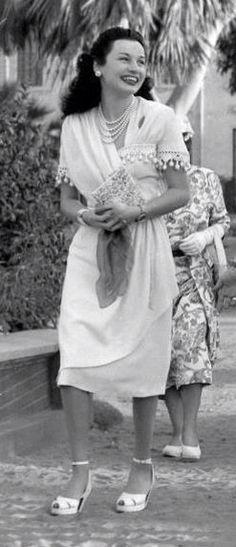 Princess Fawzia in her youth