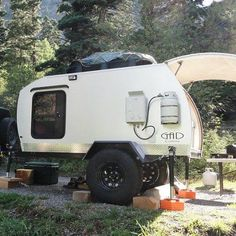 High Clearance Teardrop Camper, for the off-the-beaten-path excursion!