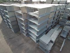 Stellrahmen Stahl oder Alu alle Größen von 0,66 m bis 2,00 m.  Alugerüst, Stahlgerüst, MJ Gerüste, neue Gerüste