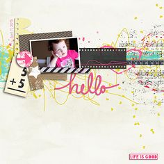 "Created using ""Hello Beautiful World"" by Studio Basic Designs and included in The Digi Files during July, 2015"