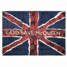 Alexander McQueen/ God Save McQueen scarf