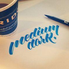 Hand Lettering - Brushpen Collection on Behance