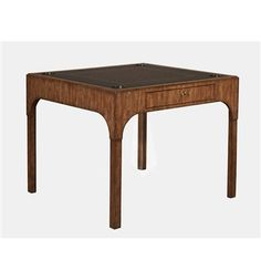 """36"""" Aged Regency Game Table"""