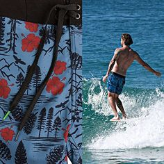 It may be Fall, but that doesn't mean we stop making trunks. Our new Paradise Trunks are available at finer surf and outdoor shops and http://www.hippytree.com/shop/boardshorts/paradise-trunk.html Tribesman Mike Siorida. Photo by Kiyo Okada. #thursdaysthreads #hippytreetribe #surfandstone