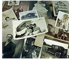 Save your old family photos by scanning them into your computer