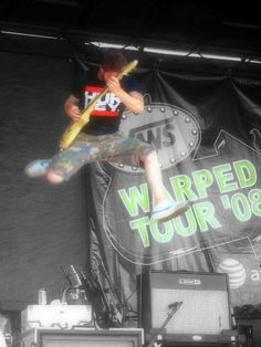 Phil (Story of the Year) Warped Tour '08