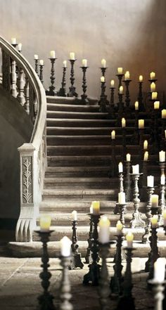 bluepueblo: Candle Staircase, Haute Provence, France photo via inspiracion Interior Exterior, Interior Design, Haute Provence, Provence France, Ideas Geniales, Stairway To Heaven, Stairway Art, Architecture, Stairways