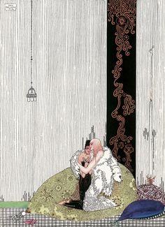 """Kay Nielsen's Stunning Illustrations for """"East of the Sun..."""""""