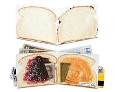 Mighty wallet (PBJ Peanut Butter and Jelly) Tyvek Wallet, Mighty Wallet, Jelly Time, Vegan Wallet, Best Wallet, Vegetable Drinks, Healthy Eating Tips, Travel Gifts, Unique Vintage