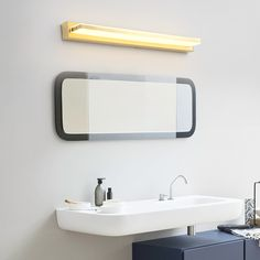 This mirror front light is made of brass, purchase from Homelava.com will have a higher quality and lpwer price. Contemporary Wall Lights, Modern Wall Lights, Fitted Bedrooms, Lighting Suppliers, Brass Mirror, Bedroom Lamps, Light Effect, Being A Landlord, Living Room