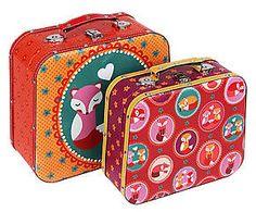 Jogo de maletas raposas premium