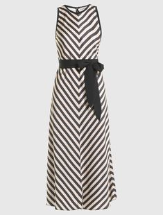 Striped dress, powder - Marella