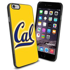 iPhone 6 Print Case Cover California Golden Bears logo Protector Black PAZATO® PAZATO Sport http://www.amazon.com/dp/B00OCNO9XU/ref=cm_sw_r_pi_dp_-aQtub13J7PFS