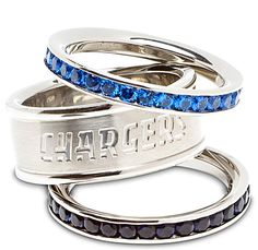 I like the gemstone rings, not so much the Chargers ring. If it were a packers ring, it would be a different story.
