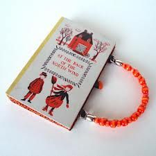 A favorite childhood tome transformed into a chic purse.