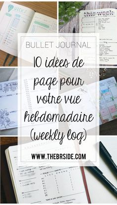 10 Weekly log page ideas for your newspaper bullet - 8 Women Bullet Journal Contents, Bullet Journal Page, Bullet Journal Banner, Organization Bullet Journal, Bullet Journal Notebook, Bullet Journal Junkies, Bullet Journal Inspiration, Journal Pages, Journal Ideas