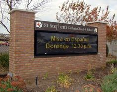 church digital; signs | LED Electronic Message Centers | Outdoor LED Signs | Church Signs