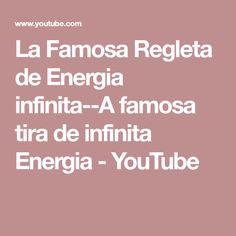 e614cf1fd6e La Famosa Regleta de Energia infinita--A famosa tira de infinita Energia