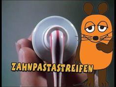 Sendung mit der Maus - Zahnpastastreifen