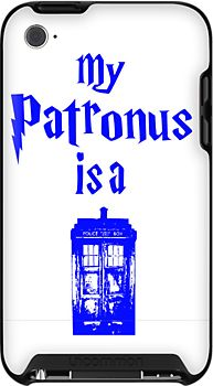 my patronus is a tardis  by ihsbsllc
