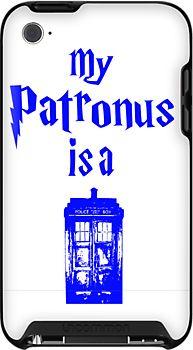 my patronus is a tardis  by ihsbsllc