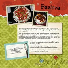 Cook It Up! Scrapbook one of your favorite family recipes using our Nancy O'Dell Recipe 12x12 Predesigned Pages for PC